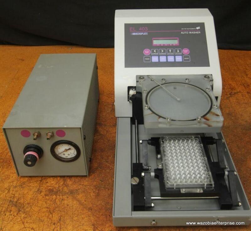 BIO-TEK EL 403 EL403 MICROPLATE AUTO WASHER & PRESSURE DELIVERY MODULE 4030510
