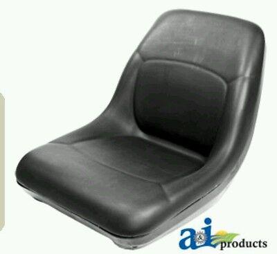 Bobcat Skidsteer Black Vinyl Bucket Seat Fits Models 540 542 543 553 641 More