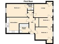 3 Bedroom large flat - 1st floor - Rankeillor Street, Newington