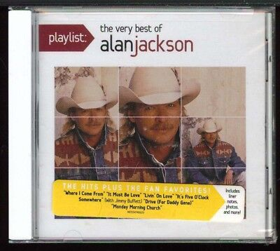 Alan Jackson - Playlist: The Very Best Of Alan Jackson [New & Sealed]
