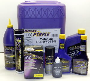 Royal Purple MAX ATF Synthetic Transmission Fluid Oil 12 Qt. Case