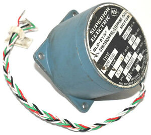 Superior Electric Slo Syn M091 Fd03 Synchronous Stepping Motor