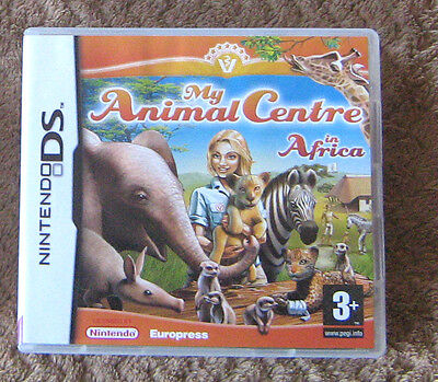 Nintendo DS My Animal Centre in Africa for sale  Birmingham