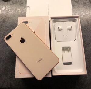 Immaculate iPhone 8 Plus (64gb) Gold
