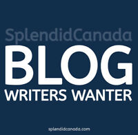 Creative writers needed for Canadian blog!