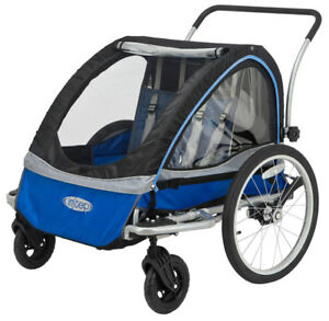 Instep Rocket Double Bicycle Trailer Stroller