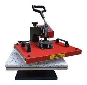 24'' Vinyl Cutter Plotter 6In1 Heat Press Transfer Machine Epson printer Package#004956