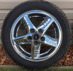 Tiger Paw Touring 205/55R16 and Grand Am GT rims - $100