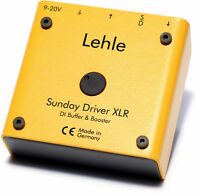 Lehle Sunday Driver  XLR  Preamp / Buffer BLOWOUT $130