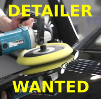 Experienced Auto Detailer Needed