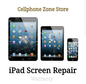 iPad 5  Screen Repair $85 / iPad 6 Screen Repair $99
