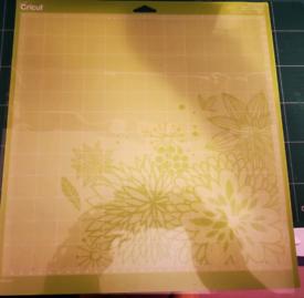 Cricut self adhesive mat