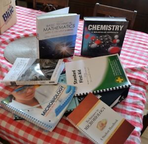 Almost new environmental technology textbooks for sale