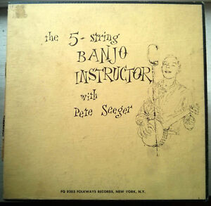 Pete Seeger ‎– How To Play The 5-String Banjo (VINTAGE LP)