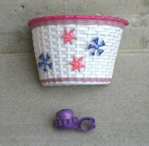 Bike Basket and Bell