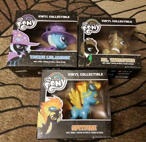 My little pony vinyl figures