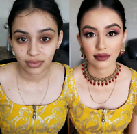Bridal /party/Bridesmaids Makeup 50$Only (Home service )