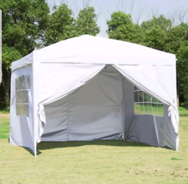 NEW Heavy Duty Popup 3x3m Gazebo Marquee Canopy – £120 each