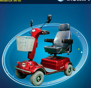 4 Wheels Electric Mobility Senior Scooter Disability Brand New