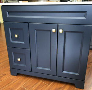 New Color Midnight Blue vanities are available now!!