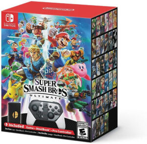 WANTED - Super smash bros special edition empty box only