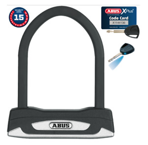 Brand New Abus Granit XPlus 54 Mini, U-Lock - Black