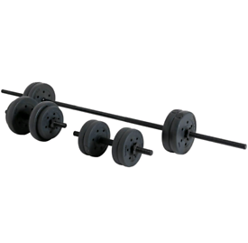 25kg dumbbell and barbell weights set BRAND NEW gym