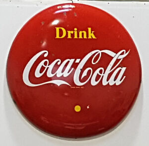"VINTAGE COCA COLA 48"" BUTTON"