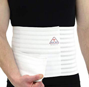 NEW ITA-MED Hernia Abdominal Tummy Binder and Back Support Belt