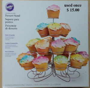 Cupcake trees and holders