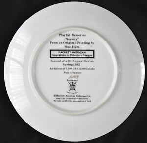 "Plates ""Playful Memories"" Sue Etem Kitchener / Waterloo Kitchener Area image 8"