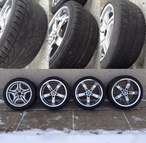 BMW Style rims and tires - 3 series