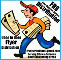 Door to door Distribution service for Ottawa and Gatineau