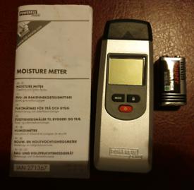 Powerfix Moisture Meter Model HG00384C