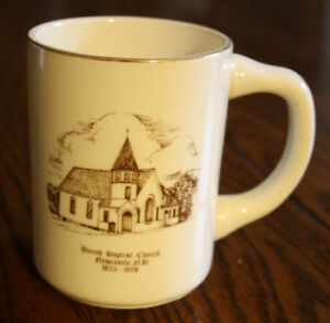 United Baptist Church of Newcastle NB, Commemorative Cup