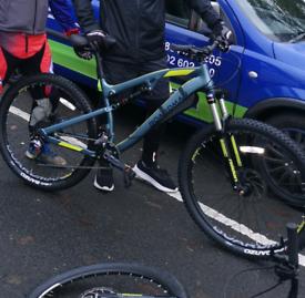 Boardman MTB mountain bike full suspension