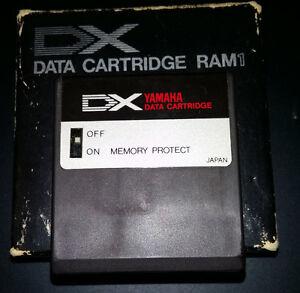Cartouche Ram pour Yamaha DX-7 (Mk1)