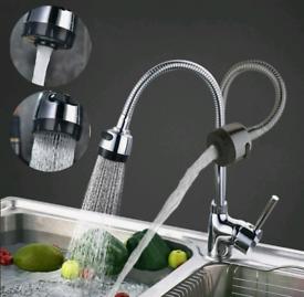 Modern Sink Mixer Taps Swivel Spout Tap Mono Chrome new