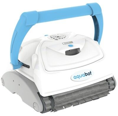 (USED) Aquabot® Breeze IQ Automatic In-Ground Robotic Brush Pool Cleaner