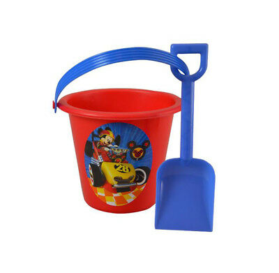 Mickey Mouse Red Sand Bucket and Shovel For Birthday party Favor Gift - Mickey Mouse Party Buckets
