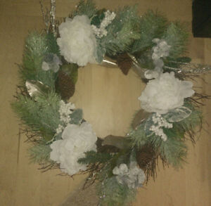 Beautiful large Christmas wreath from HomeSense