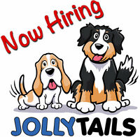 Jollytails is hiring a full time doggy daycare attendant