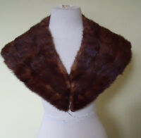 Grand Collet en Fourrure Vison - Fur Mink Stole -