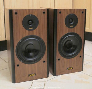 ADE S-620 High Quality 2 Way Speakers