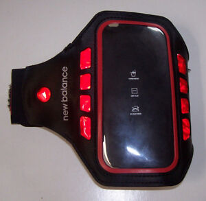 New Balance Sport Armband + LED Safety Light for Iphone and Ipod