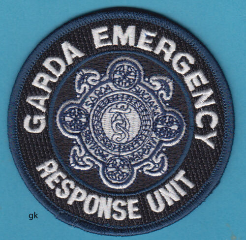 GARDA  EMERGENCY RESPONSE UNIT IRELAND POLICE SHOULDER PATCH