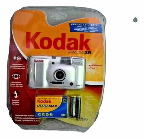 Kodak KV270 35mm Compact Automatic Camera w/ Ultramax 400 Film Roll New Blister