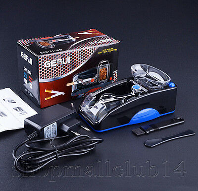 Best Cigarette Rolling Machine Electric Automatic Tobacco Injector Maker US SELL