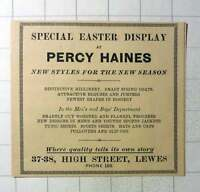 1937 Percy Haynes Millinery Spring Coats High Street Lewes -  - ebay.co.uk