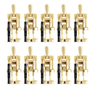 10 LEGO BATTLE DROID MINIFIG LOT star wars figures NEW